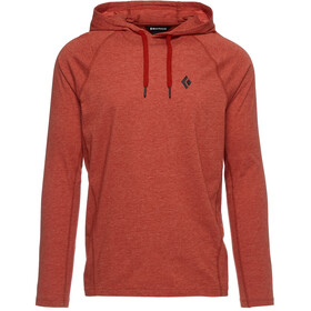 Black Diamond Crag Sudadera Hombre, red rock